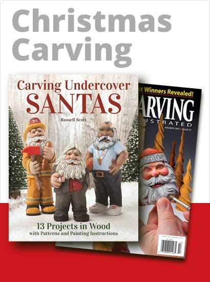 Wood Carving Christmas Books