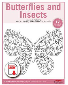 Butterflies and Insects Patterns (Download)