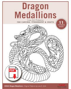 Dragon Medallions Patterns (Download)
