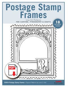 Postage Stamp Frames Patterns (Download)