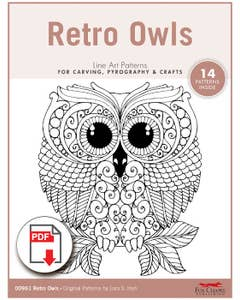 Retro Owls Patterns (Downloads)