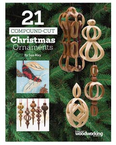 21 Compound-Cut Christmas Ornaments (Downloads)