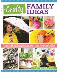 Crafty Family Ideas will show you tons of simple and cute crafts, recipes, and other ideas for a fun and creative family life!