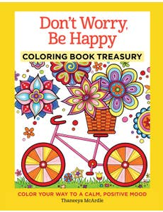 Don't Worry, Be Happy Coloring Book Treasury (HC)