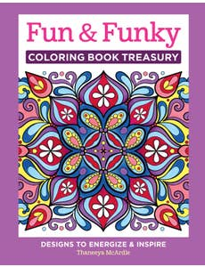 Fun & Funky Coloring Book Treasury (HC)