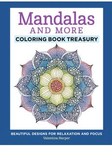 Mandalas and More Coloring Book Treasury (HC)