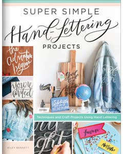 Super Simple Hand-Lettering Projects