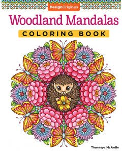 Woodland Mandalas Coloring Book: 40 Nature-Inspired Designs