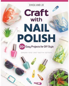 Chica and Jo Craft with Nail Polish
