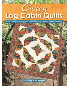 Curvy_Log_Cabin_Quilts_Download 1