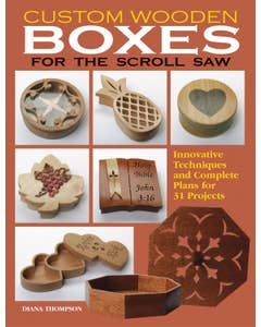 Custom Wooden Boxes for the Scroll Saw