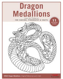 Dragon Medallions Pattern Pack