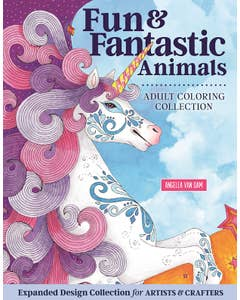 Hello_Angel_Fun_&_Fantastic_Animals_Adult_Coloring_Collection_0