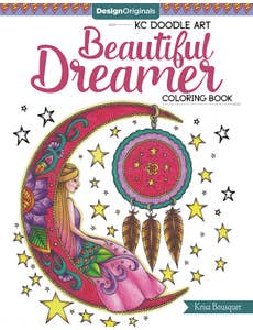 KC_Doodle_Art_Beautiful_Dreamer_Coloring_Book 1