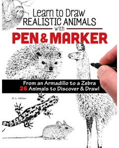 Learn_to_Draw_Realistic_Animals_with_Pen_&_Marker_0