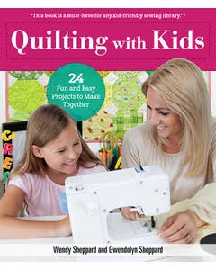 Quilting with Kids (hidden spiral)