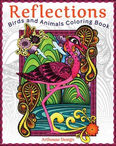 Reflections_Birds_and_Animals_Coloring_Book 1