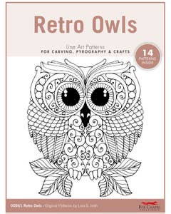 Retro Owls Pattern Pack