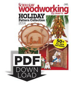 Scroll Saw Woodworking & Crafts Holiday Pattern Collection - Updated for 2015
