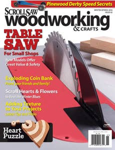 Scroll Saw Woodworking & Crafts Issue 62 Winter Spring 2016