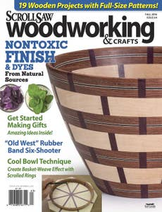 Scroll Saw Woodworking & Crafts Issue 64 Summer Fall 2016