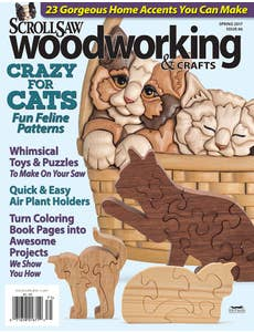 Scroll Saw Woodworking & Crafts Issue 66 Spring 2017