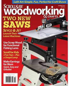 Scroll Saw Woodworking & Crafts Issue 67 Summer 2017
