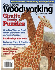 Scroll Saw Woodworking & Crafts Issue 68 Fall 2017