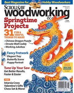 Scroll Saw Woodworking & Crafts Issue 74 Spring 2019