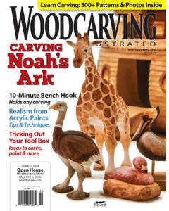 Woodcarving Illustrated Issue 74 Winter Spring 2016