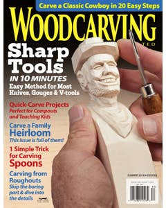 Woodcarving Illustrated Issue 83 Summer 2018
