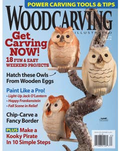 Woodcarving Illustrated Issue 84 Fall 2018