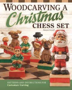 Woodcarving_a_Christmas_Chess_Set 1