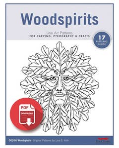 Woodspirit Carving Patterns (Download)
