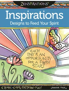 Zenspirations(R) Coloring Book Inspirations Designs to Feed Your Spirit