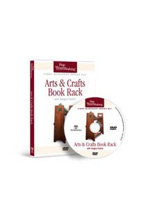 Arts and Crafts Book Rack with Gregory Paolini