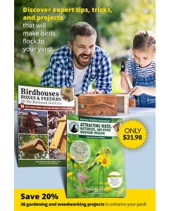 Birdhouse, Boxes & Feeders, & Attracting Birds Bundle - Birdhouses, Boxes & Feeders for the Backyard Hobbyist - National Wildlife Federation®: Attracting Birds, Butterflies, and Other Backyard Wildlife, Expanded Second Edition