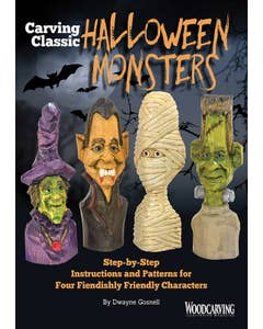 Carving Classic Halloween Monsters (Downloads)