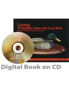 Carving 20 Realistic Game & Songbirds (CD)