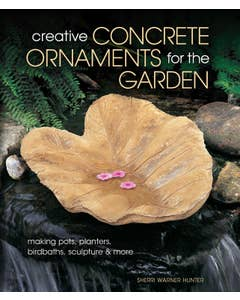 Creative Concrete Ornaments for the Garden