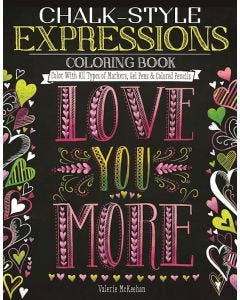 Chalk-Style_Expressions_Coloring_Book_0