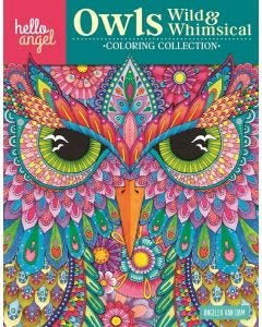 Hello_Angel_Owls_Wild_&_Whimsical_Coloring_Collection_0
