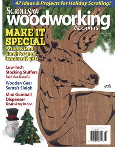 Scroll Saw Woodworking & Crafts Issue 65 Fall Holiday 2016