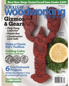 Scroll Saw Woodworking & Crafts Issue 71 Summer 2018