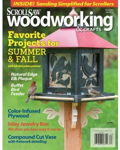 Scroll Saw Woodworking & Crafts Issue 72 Fall 2018