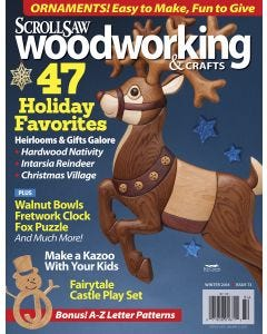 Scroll Saw Woodworking & Crafts Issue 73 Winter 2018