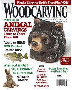 Woodcarving Illustrated Issue 86 Spring 2019
