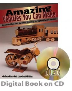 Amazing Vehicles You Can Make (CD)