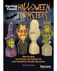 Carving Classic Halloween Monsters (Download)