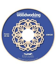 Scroll Saw Woodworking & Crafts Archive CD Volume 3